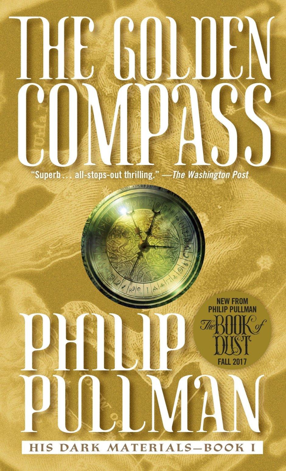 Philip Pullman, The Golden Compass (Laurel Leaf).jpg