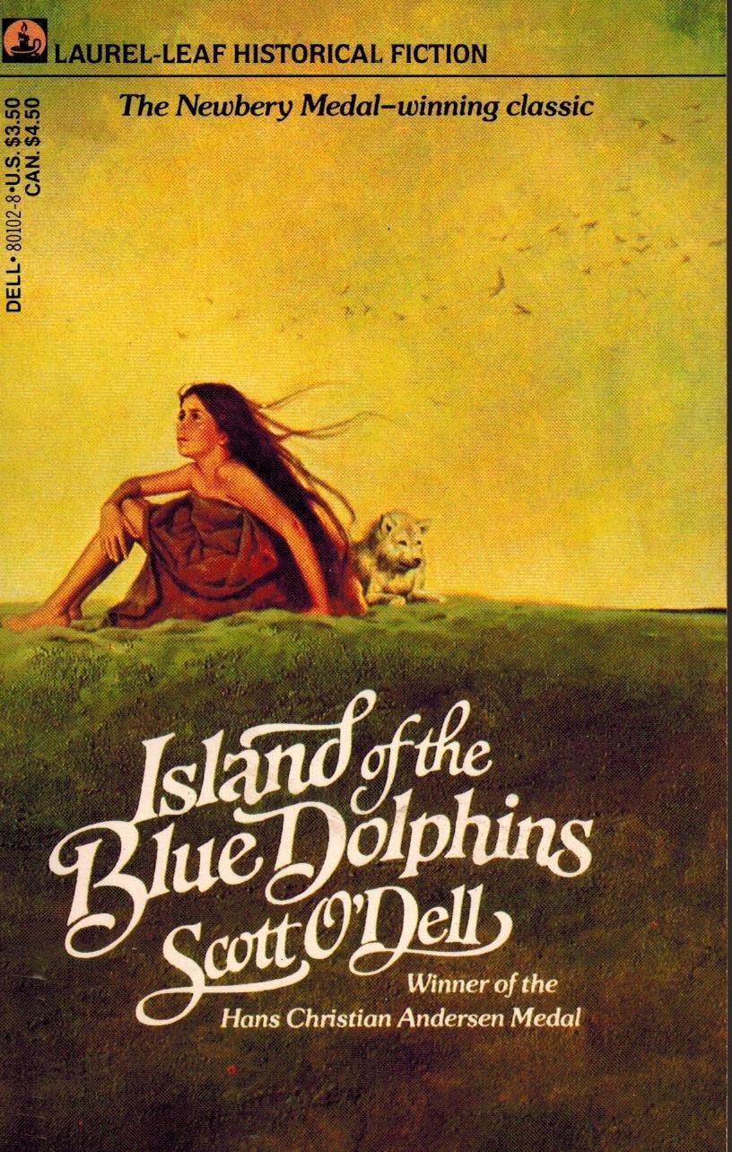 Scott O Dell, Island of the Blue Dolphins (Laurel Leaf).jpg