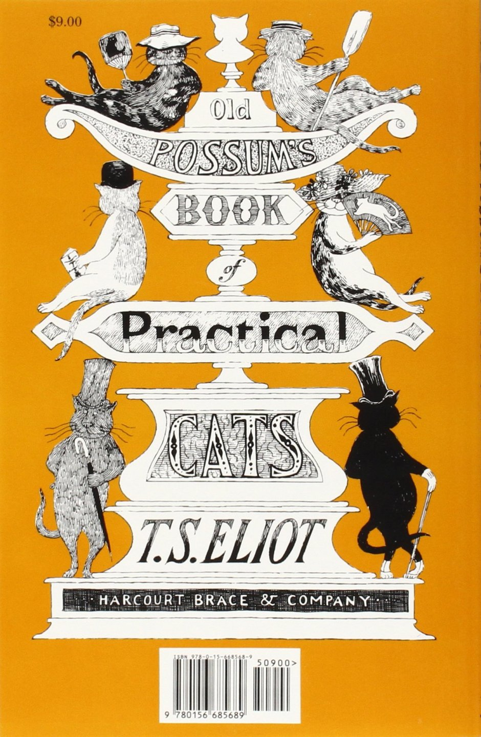T.S. Elliot, Old Possums Book of Practical Cats (Harcourt Brace & Co).jpg