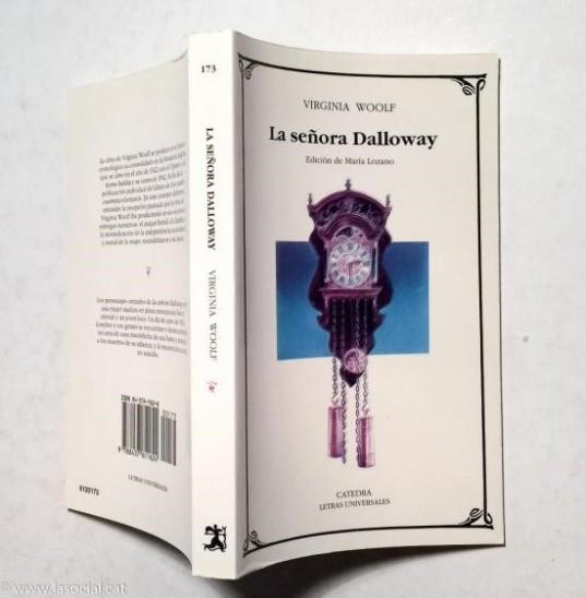 Catedra Letras Universales. La señora Dalloway, translation by Mariano Baselga